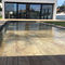 security swimming pool cover / thermal / winter / immersed