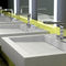 washbasin mixer tap / chrome-plated brass / electronic / bathroom