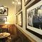 wall-mounted paneling / oak / oiled