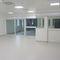 Sliding industrial door / metal / semi-glazed / interior HDS PORTALP INTERNATIONAL