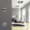 home automation system switch / touch / aluminum / contemporary
