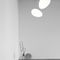 Pendant lamp / original design / polyethylene / compact fluorescent AVION by Iskos Berlin Lightyears