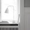 table lamp / contemporary / steel / blown glass