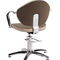 Fabric beauty salon chair / swivel / star base / red WOLLY 754 BMP Srl