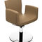 Synthetic leather beauty salon chair / swivel / with hydraulic pump / central base BARBIZON Nelson Mobilier