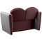 traditional sofa / leather / fabric / for hairdressers