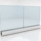 Removable partition / aluminum / glazed / for offices FLAT ONE 4 FLAT BY ARTIS