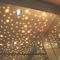 contemporary ceiling light / composite material / LED