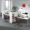 workstation desk / HPL / contemporary / commercial