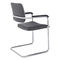Contemporary visitor chair / stackable / upholstered / with armrests SKID by Andreas Ostwald BRUNE Sitzmöbel GmbH