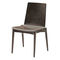 Contemporary visitor chair / with armrests / upholstered / wooden PEPPER by Uwe Sommerlade BRUNE Sitzmöbel GmbH