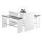 Contemporary bench / plastic / HPL 4610 WANGENBANK BRUNE Sitzmöbel GmbH