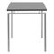 Contemporary work table / steel / rectangular / for public buildings 4090 BRUNE Sitzmöbel GmbH