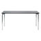 Contemporary table / metal / rectangular / for public buildings 4091 BRUNE Sitzmöbel GmbH