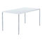 Contemporary work table / steel / rectangular / for public buildings 4095 BRUNE Sitzmöbel GmbH