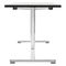 Contemporary work table / wooden / HPL / steel FOLD 4120 by delphin design BRUNE Sitzmöbel GmbH