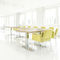 Contemporary conference table / wooden / HPL / steel ENDLESS TABLE 4550 BRUNE Sitzmöbel GmbH