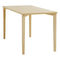 Contemporary work table / beech / rectangular / for public buildings 4190 AFTERNOON BRUNE Sitzmöbel GmbH