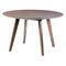 Contemporary table / wooden / rectangular / oval 4240 TIMBER by delphin design BRUNE Sitzmöbel GmbH