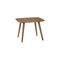 contemporary side table / wooden / round / for restaurants