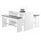 Contemporary high bar table / plastic / HPL / rectangular 4600 WANGENTISCH BRUNE Sitzmöbel GmbH