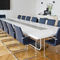 Conference table / contemporary / wooden / metal S 8000 by Hadi Teherani THONET
