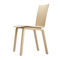 contemporary chair / upholstered / fabric / wood