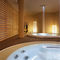 built-in bathtub / oval / fiberglass / ceramic