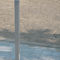 security bollard / cast aluminum / high