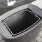 public litter bin / floor-mounted