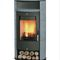 Wood heating stove / contemporary / steel / soapstone ALICANTE  Fireplace