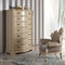 classic chest of drawers / wooden / brown