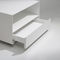 Contemporary coffee table / lacquered MDF / lacquered metal / square KOBO by Héctor Diego KENDO MOBILIARIO