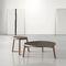 Contemporary coffee table / solid wood / ceramic / round VAN by Francesc Rifé KENDO MOBILIARIO