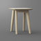 contemporary stool / solid wood