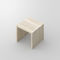 contemporary stool / oak / solid wood / beech