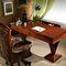 solid wood desk / rosewood / palisander / traditional