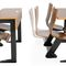 contemporary table and chair set / wooden / rectangular / indoor