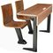 Contemporary table and chair set / wooden / steel / for schools WD-118 & TB-618  Gauss Furniture