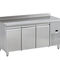 freezer with drawer / commercial / stainless steel / energy-saving