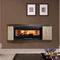 Contemporary fireplace mantel / marble / 1-sided ASTICO Nordica