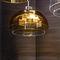 pendant lamp / contemporary / bronze / blown glass