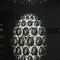 Contemporary chandelier / glass UOVO by Rony Plesl LASVIT