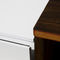 contemporary TV cabinet / custom / lacquered wood / solid wood