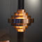 pendant lamp / contemporary / copper / handmade