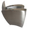 original design armchair / stainless steel / goat skin / with armrests
