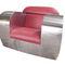 Original design armchair / leather / stainless steel / club FAT ASS  ICI ET LA