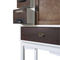 chest of drawers with long legs / original design / lacquered wood / custom