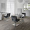 Contemporary dressing table / aluminum / wall-mounted / for hairdressers SECRET Salon Ambience