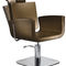 Synthetic leather beauty salon chair / steel / WPC / central base YOU Salon Ambience